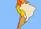 South America – find on the map